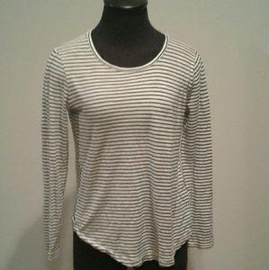 Madewell Striped Long Sleeve Tee S